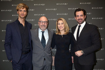 Lilla Soria Golden Globes Ceremony Honoring Ennio Morricone Hosted by BVLGARI