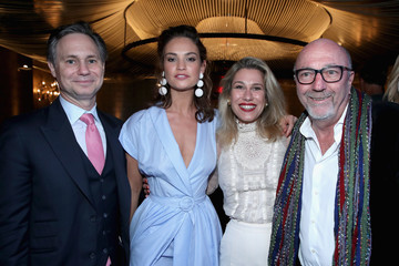 Lilla Soria DuJour's Summer Issue Cover Party with Lily James Presented by Belvedere Vodka