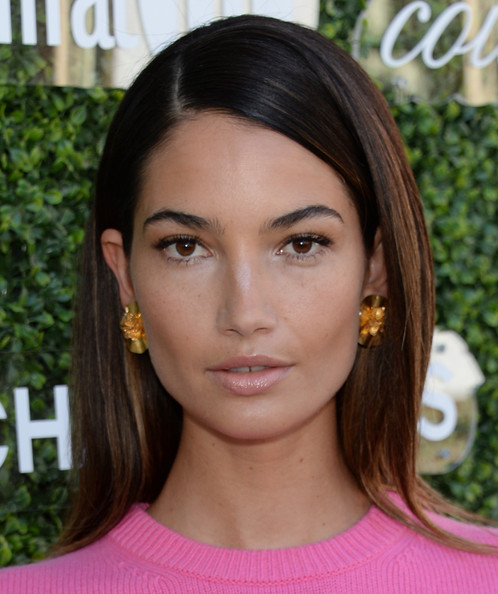 Lily Aldridge - Arrivals at the Couture Council Luncheon