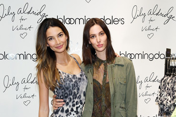 Lily Aldridge Ruby Aldridge 'Lily Aldridge For Velvet' Launches in NYC