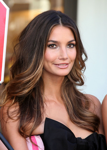 Lily Aldridge Hair Highlights