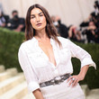 Lily Aldridge The 2021 Met Gala Celebrating In America: A Lexicon Of Fashion - Arrivals