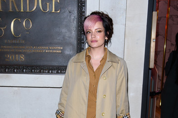 Lily Allen Pat McGrath 'A Technicolour' Launch Campaign Party - VIP Arrivals