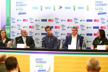 Lily Caprani Andy Murray Media Access