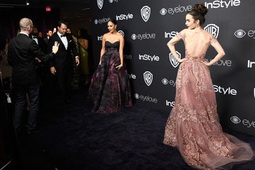 Lily Collins Warner Bros. Pictures and InStyle Host 18th Annual Post-Golden Globes Party - Arrivals
