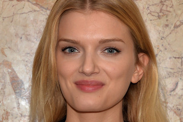 Lily Donaldson Gucci Beauty Launch Event Hosted By Frida Giannini