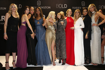 Lily Donaldson Joan Smalls amfAR's 22nd Cinema Against AIDS Gala, Presented By Bold Films And Harry Winston - Show