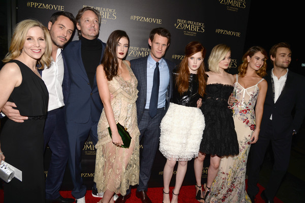 Premiere of 'Pride And Prejudice and Zombies' - Red Carpet