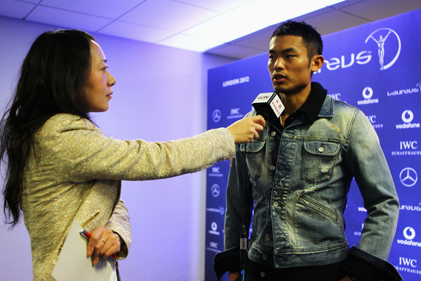 Lin Dan - Previews-2012 Laureus World Sports Awards