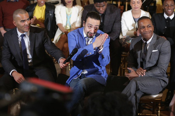 lin manuel miranda photos photos michelle obama hosts cast of broadway 39 s 39 hamilton 39 at the. Black Bedroom Furniture Sets. Home Design Ideas