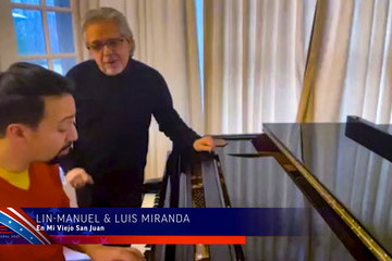 Lin-manuel Miranda Latino Inaugural 2021: Inheritance, Resilience and Promise