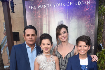 Linda Cardellini Raymond Cruz Premiere Of Warner Bros' 'The Curse Of La Llorona' - Red Carpet