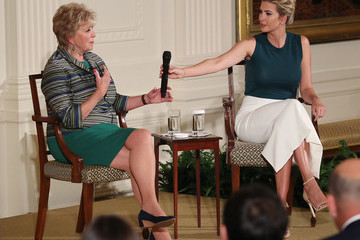 Linda McMahon President Trump Attends a Small Business Event at the White House