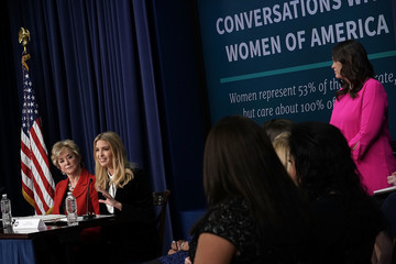 Linda McMahon White House Hosts 'Conversations With the Women of America' Panel