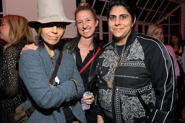 Linda Perry Spotify's Dawn Ostroff Hosts An Event Around Gender Equity
