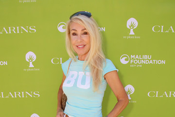 Linda Thompson Clarins And The Malibu Foundation Host Replant Love