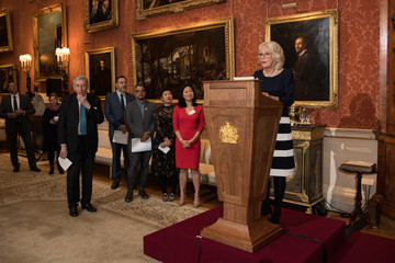 Linda Yueh The Duchess Of Cornwall Hosts The Queen's Commonwealth Essay Prize