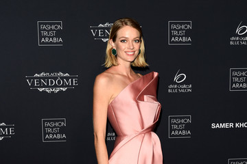 Lindsay Ellingson Doha Fashion Trust Arabia Red Carpet And Gala Dinner