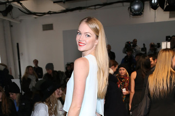Lindsay Ellingson Misha Nonoo - Front Row - Mercedes-Benz Fashion Week Fall 2015