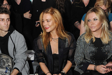 Lindsay Lohan Front Row & Arrivals: Day 2 - LFW SS16