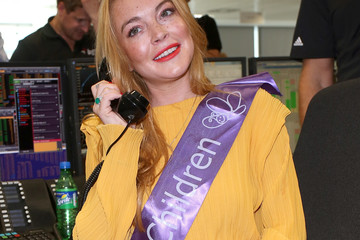 Lindsay Lohan BGC Annual Global Charity Day