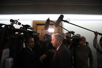 Lindsey Graham Senate Judiciary Committee Holds Meeting On Nominations