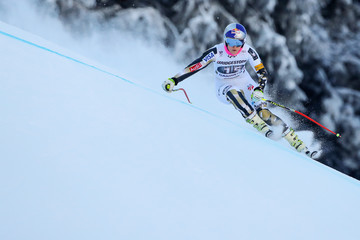 Lindsey Vonn Audi FIS Alpine Ski World Cup - Women's Downhill Training