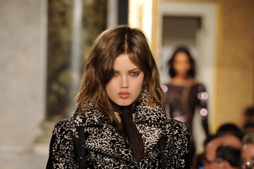 Lindsey Wixson Emilio Pucci- Runway - Milan Fashion Week Womenswear Autumn/Winter 2014