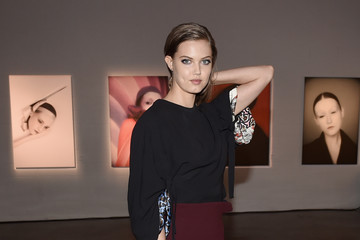 Lindsey Wixson Dior Beauty Celebrates the Art of Color With Peter Philips in NYC