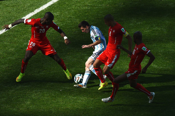 Lionel Messi Gelson Fernandes Photos Argentina v Switzerland 2