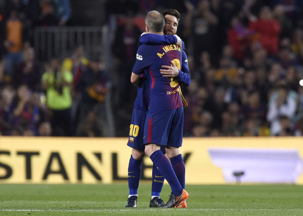 Lionel Messi and Andres Iniesta Photos - 1 of 152