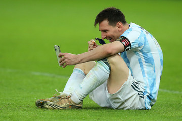 Lionel Messi European Best Pictures Of The Day - July 11