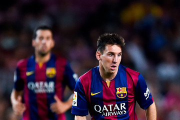 Lionel Messi FC Barcelona v Club Leon