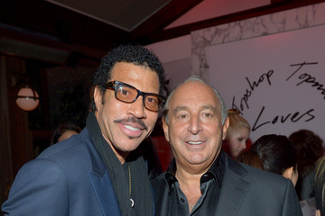 Lionel Richie Philip Green Topshop Topman LA Opening Party At Cecconi's - Inside
