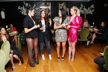 Lisa Barlow Samantha Kent Beauty Moguls, Nikki, And Brie Bella Launch New Product Line During Fashion Week For Nicole And Brizee, N+B Body And Beauty Line