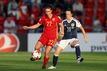 Lisa Evans Scotland v Spain - UEFA Women's Euro 2017: Group D