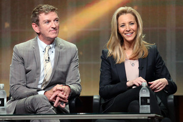 Lisa Kudrow Michael Patrick King Summer TCA Tour: Day 3