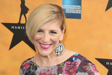 Lisa Lampanelli 'Hamilton' Broadway Opening Night - Arrivals And Curtain Call