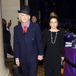 Lisa Marie Presley Cocktail Reception At Elton John's Annual Benefit