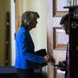 Lisa Murkowski Senate Lawmakers Address The Media After Their Weekly Policy Luncheons