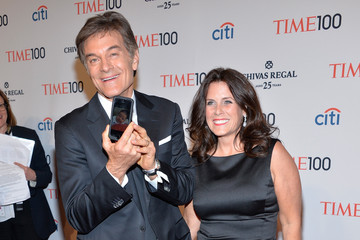 Lisa Oz Arrivals at the TIME 100 Gala