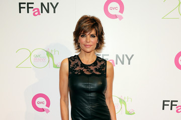 Lisa Rinna Celebs Promote FFANY Shoes in NYC
