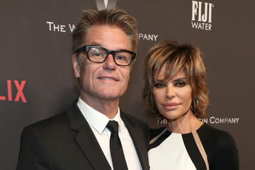 Lisa Rinna The Weinstein Company and Netflix Golden Globes Party Presented With FIJI Water