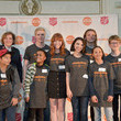 Lisa Smith Nickelodeon HALO Presents the Salvation Army's Feast of Sharing Holiday Dinner