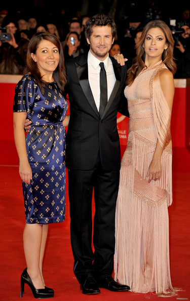 "Director Massy Tadjedin and actors Guillaume Canet and Eva Mendes attend the ""Little White Lies"" premiere during The 5th International Rome Film Festival at Auditorium Parco Della Musica on October 29, 2010 in Rome, Italy."