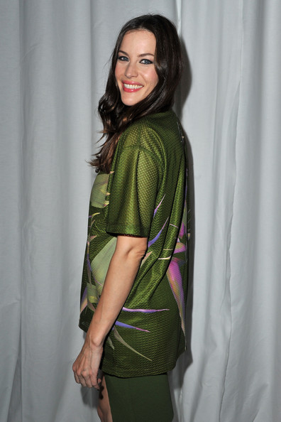 Liv Tyler Liv Tyler attends the Givenchy Ready to Wear Spring / Summer 2012 show during Paris Fashion Week  on October 2, 2011 in Paris, France.