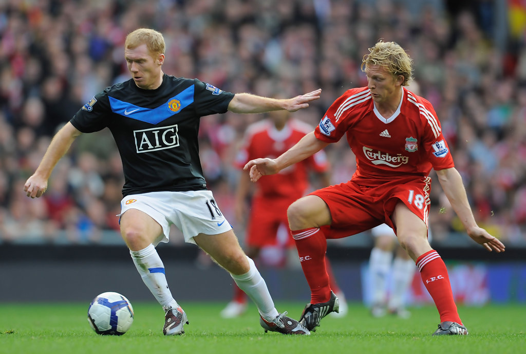 Paul Scholes: Liverpool V Manchester United