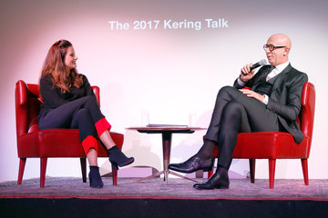 Livia Firth 2017 Kering Talk at London College of Fashion