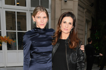 Livia Firth Fashion Tech Lab Launch Event Hosted By Miroslova Duma and Stella McCartney - PFW Spring And Summer 2018