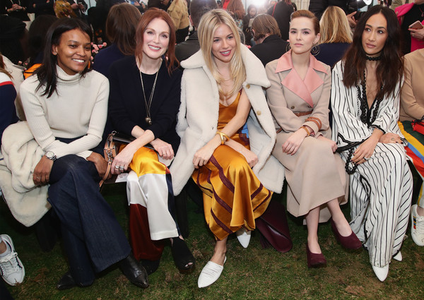 Tory Burch - Backstage And Front Row - February 2018 - New York Fashion Week